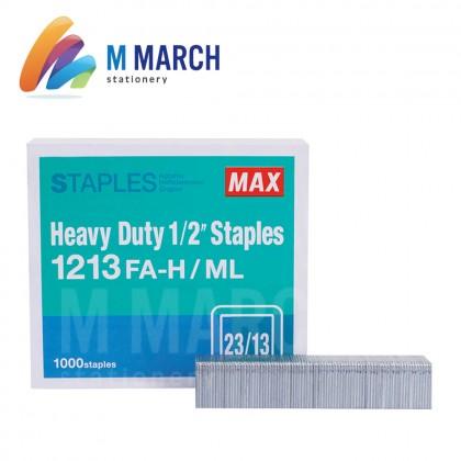 """MAX Staples Heavy Duty 1/2"""" - 23/13 ( 1213 FA-H )"""
