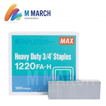 """MAX Staples Heavy Duty 3/4"""" - 23/20 ( 1220 FA-H )"""