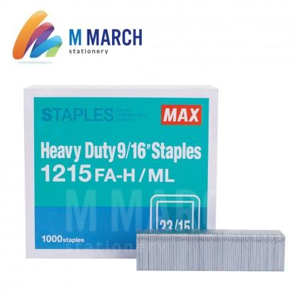 """MAX Staples Heavy Duty 9/16"""" - 23/15 ( 1215 FA-H )"""